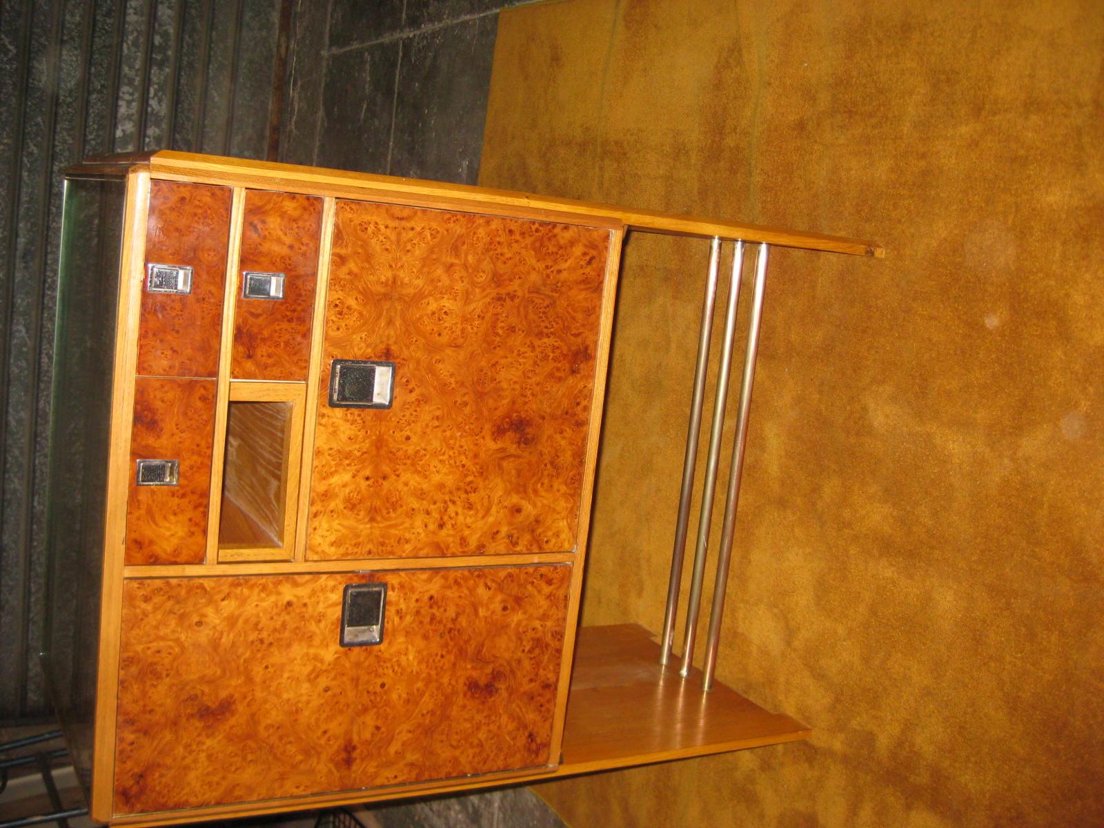 meuble année 70 :secrétaire-bar - objets vintage et brocante - Meuble Secretaire Design 2
